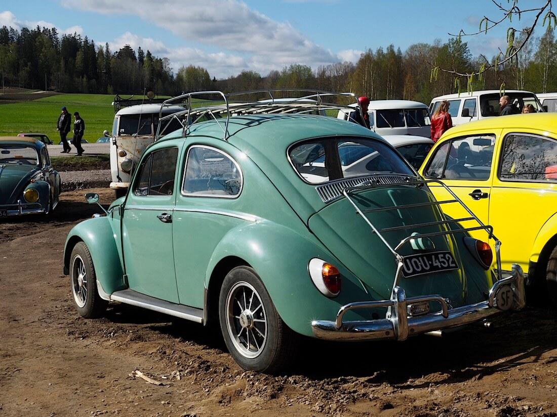 1962 Volkswagen paksutolppa kupla BRM-vanteilla. Kuva: Kai Lappalainen. Lisenssi: CC-BY-40.