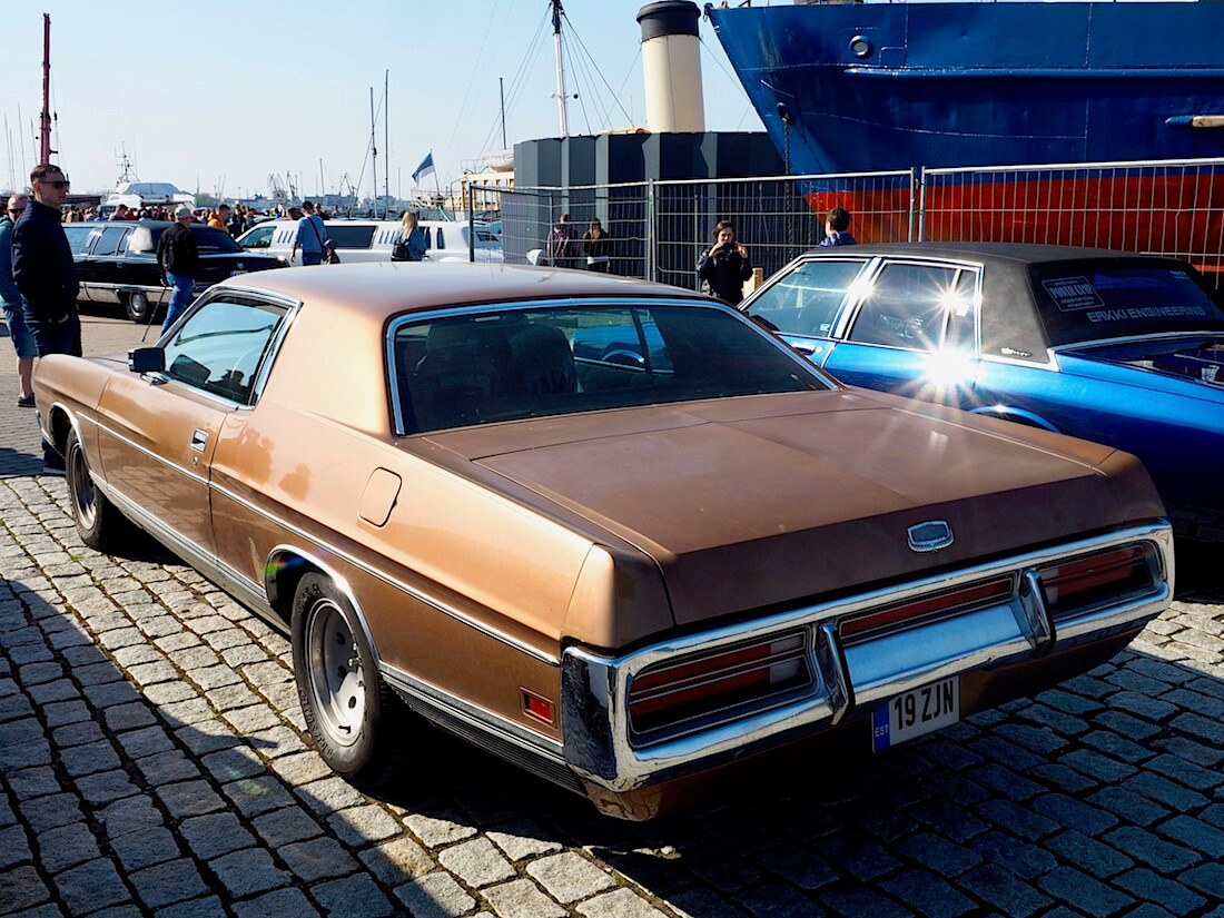 1972 Ford LTD Brougham 2d Hardtop 400cid V8. Kuva: Kai Lappalainen. Lisenssi: CC-BY-40.