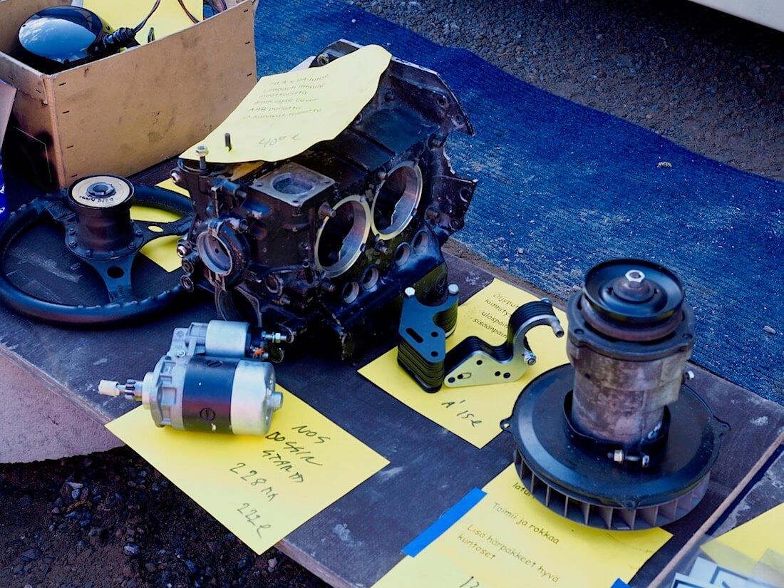 VW Stroker-moottorin lohko. Kuva: Kai Lappalainen. Lisenssi: CC-BY-40.