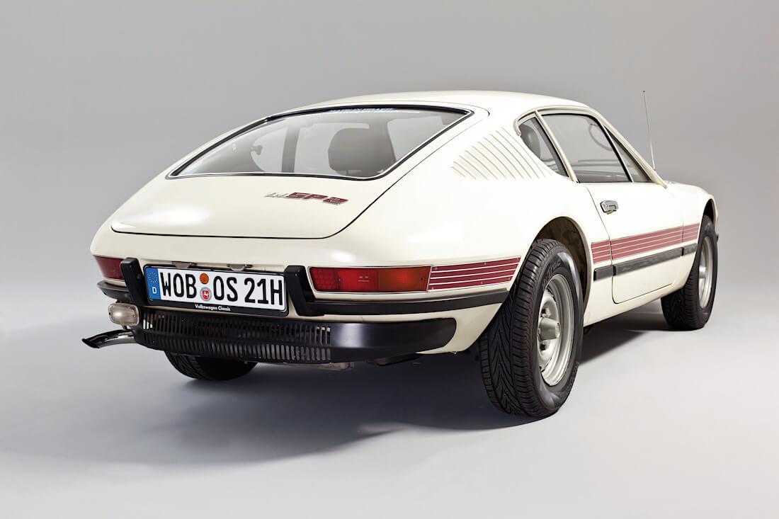 1973 Volkswagen SP2 takaa. Kuva ja copyright: Volkswagen of Brazil.