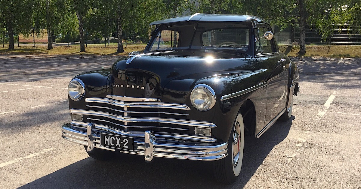 1949 Plymouth P-17 Deluxe Business Coupe