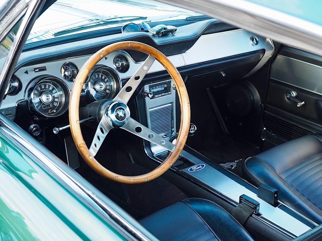 1967 Ford Mustang GT Deluxe-sisustus