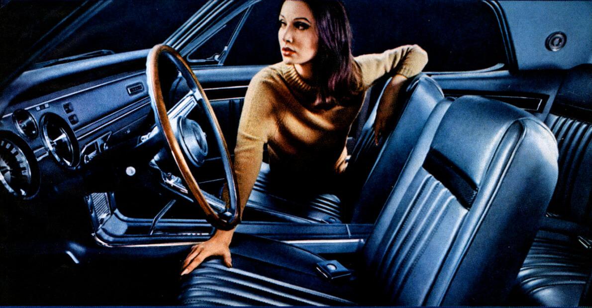 1967 Mercury Cougarin mainoskuva