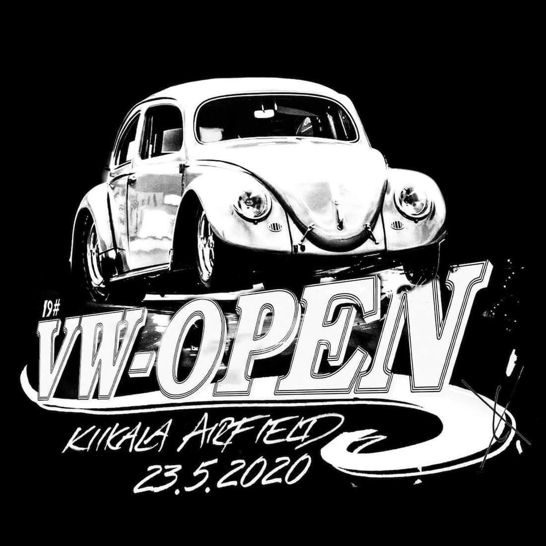 VW-Open 2020 tapahtuman mainos