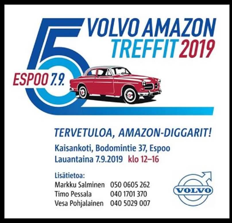 Volvo Amazon Treffit 2019 mainos
