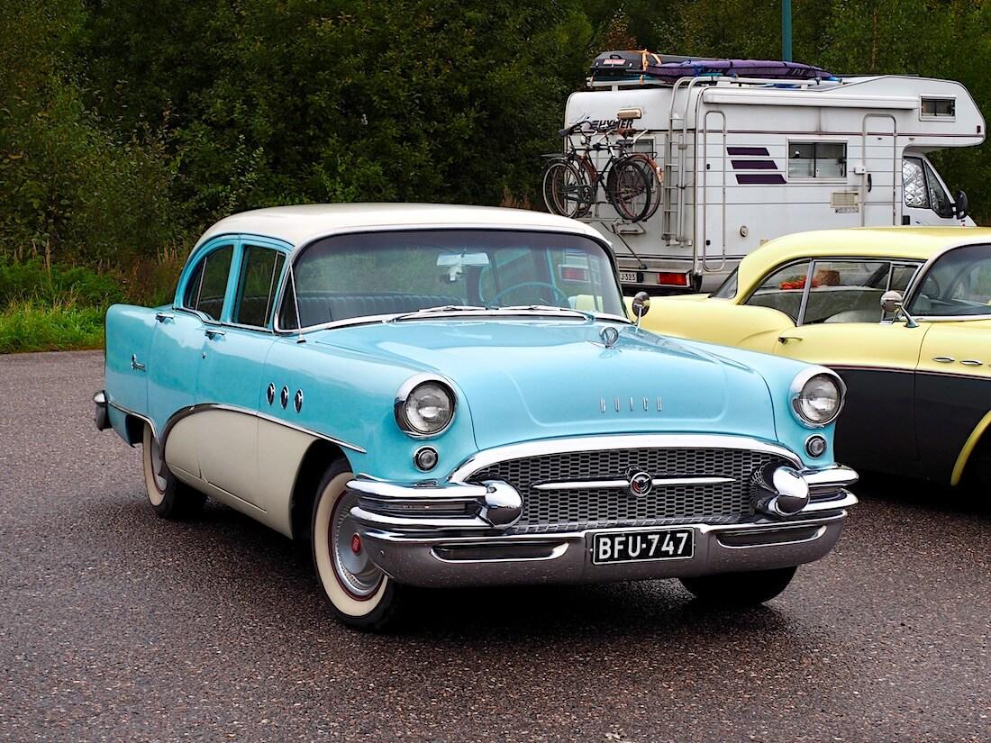 1955 Buick Special 4d sedan
