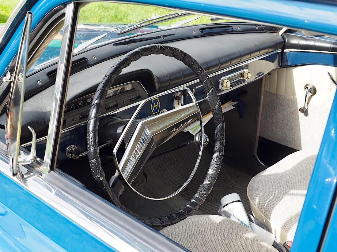 1960 Volvo Amazon Sport mallin sisusta