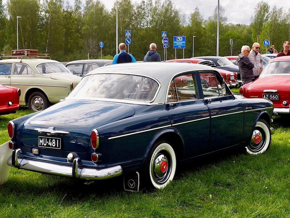 Museorekisteröity 1960 Volvo Amazon Sport B16B