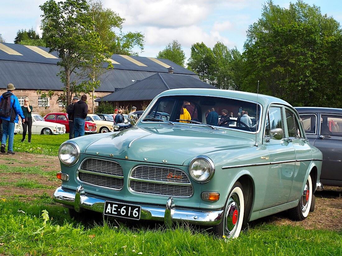Dimgrön vihreä 1962 Volvo Amazon