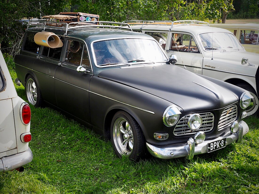 1967 Volvo Amazon B18 farmari Swamp coolerilla