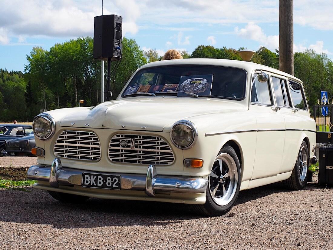Muusikko Toivo Suden 1967 Volvo Amazon farmari