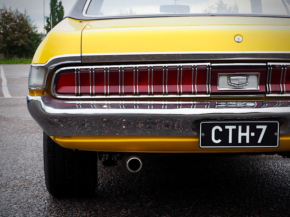 1970 Mercury Cougarin takavalopaneeli