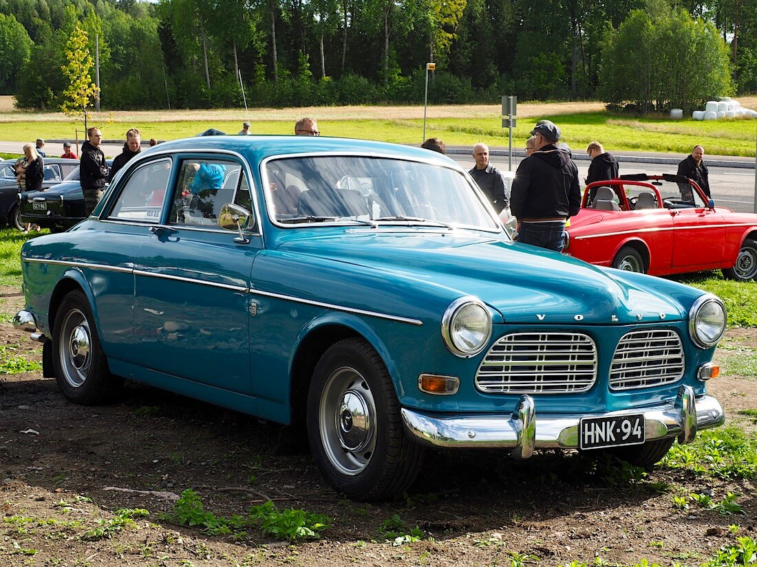 Mellanblå 1970 Volvo Amazon