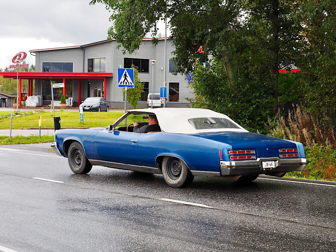 1972 Pontiac Grand Ville Convertible V8