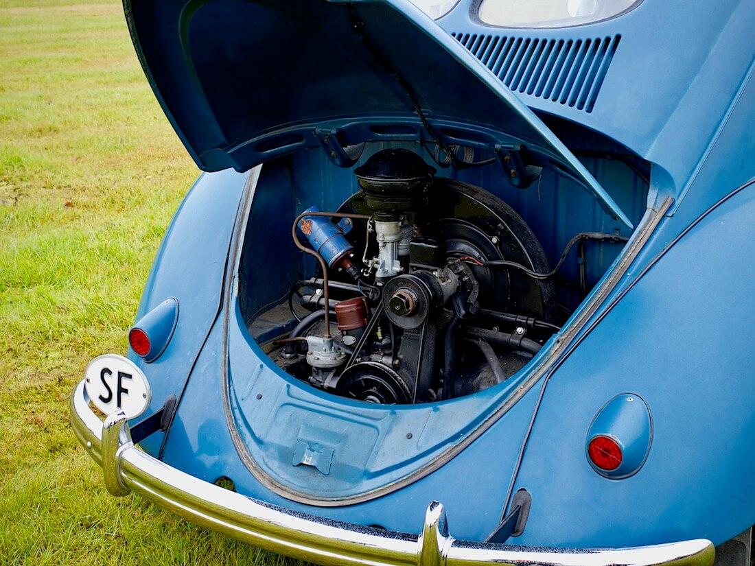 1951 Volkswagen kuplan 1130cc 25hv moottori