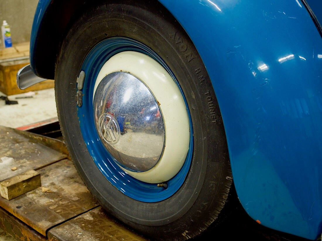 """1951 VW kuplan 16"""" eturengas"""