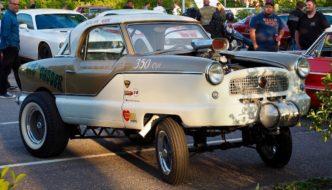1956 Nash Metropolitan Gasser 350cid V8