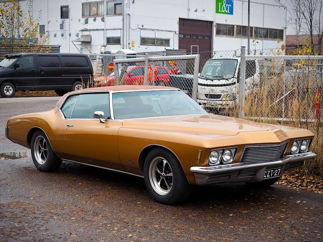 1971 Buick Riviera 2d HT 455cid Boat tail