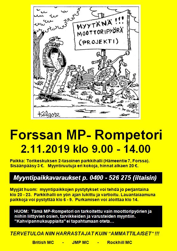 Forssan MP-rompetori 2019