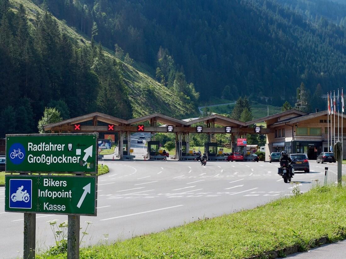 Tietulliasema Grossglockner vuorella