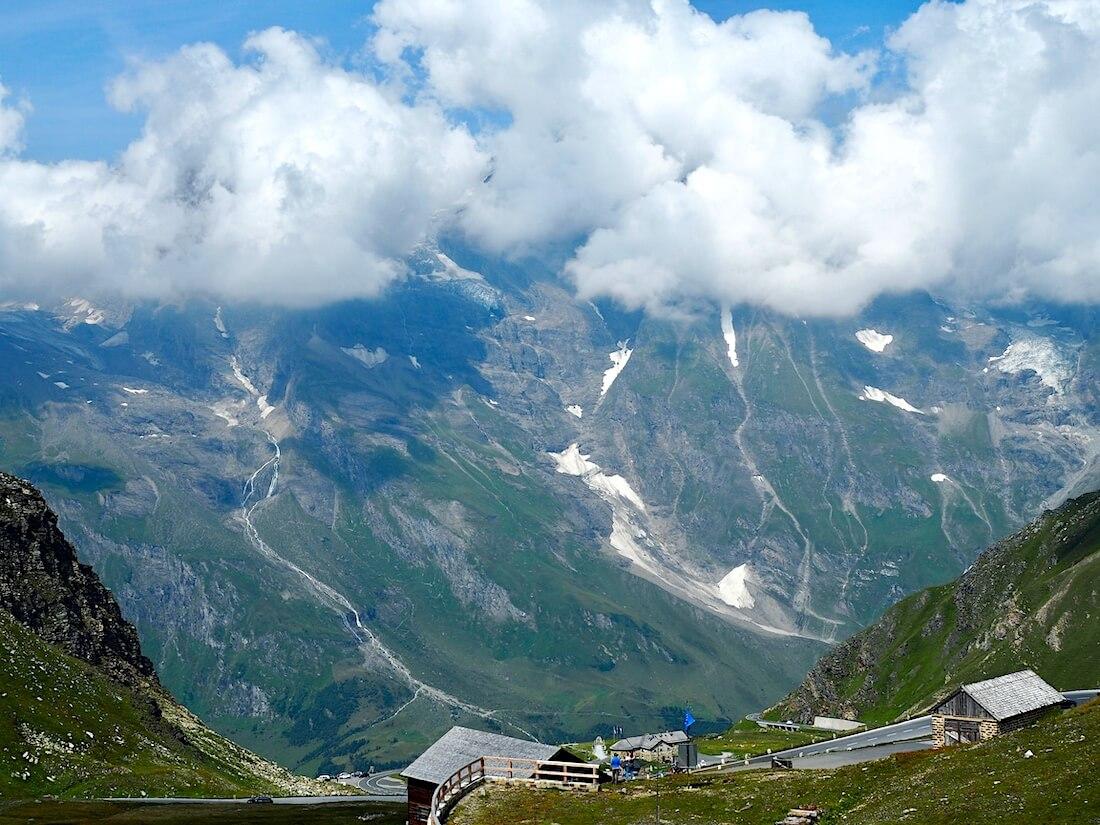 Näkymä Grossglockner vuorelta