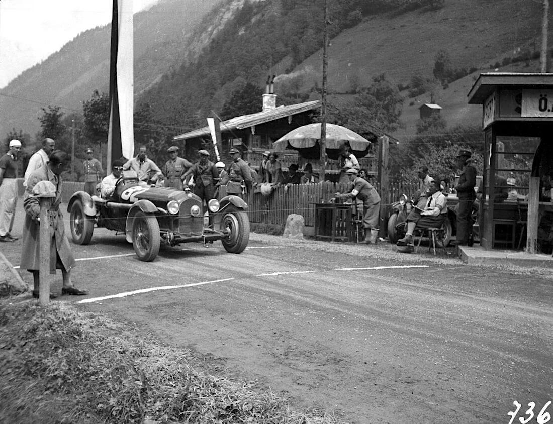 1935 Alfa Romeo Grossglocker kilpailussa