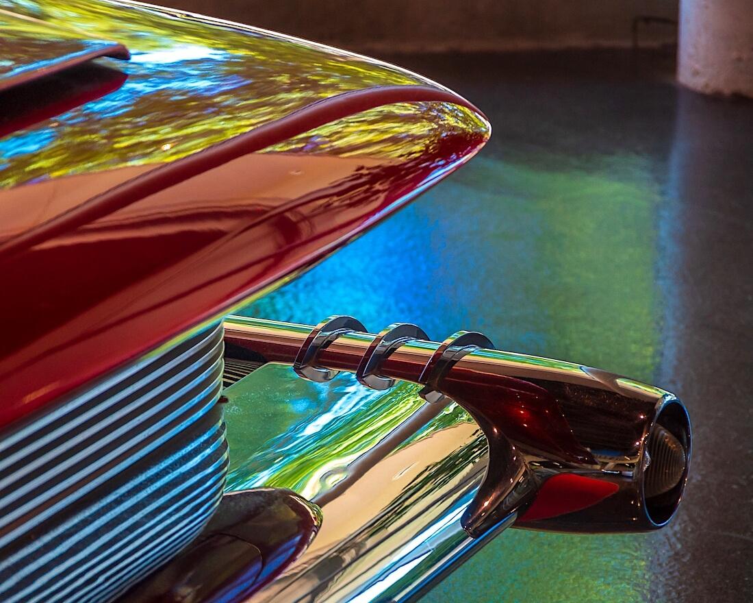 1960 Didia 150 auton yksityiskohta
