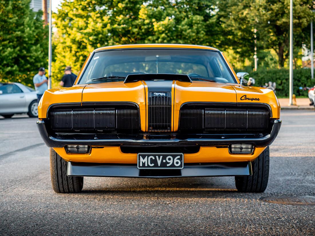 1970 Mercury Cougar edestä
