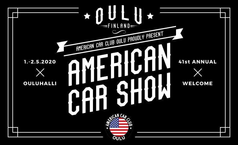 American Car Show Oulu 2020