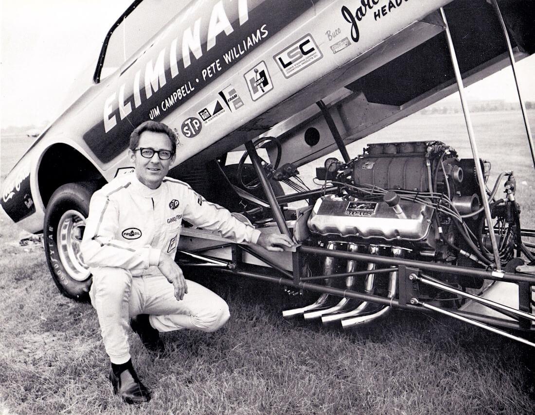 Dyno Don Nicholsonin Mercury Cougar 427cid Funny Car