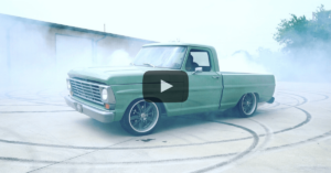 Burnout 1968 Ford F100 Frankenstein autolla.