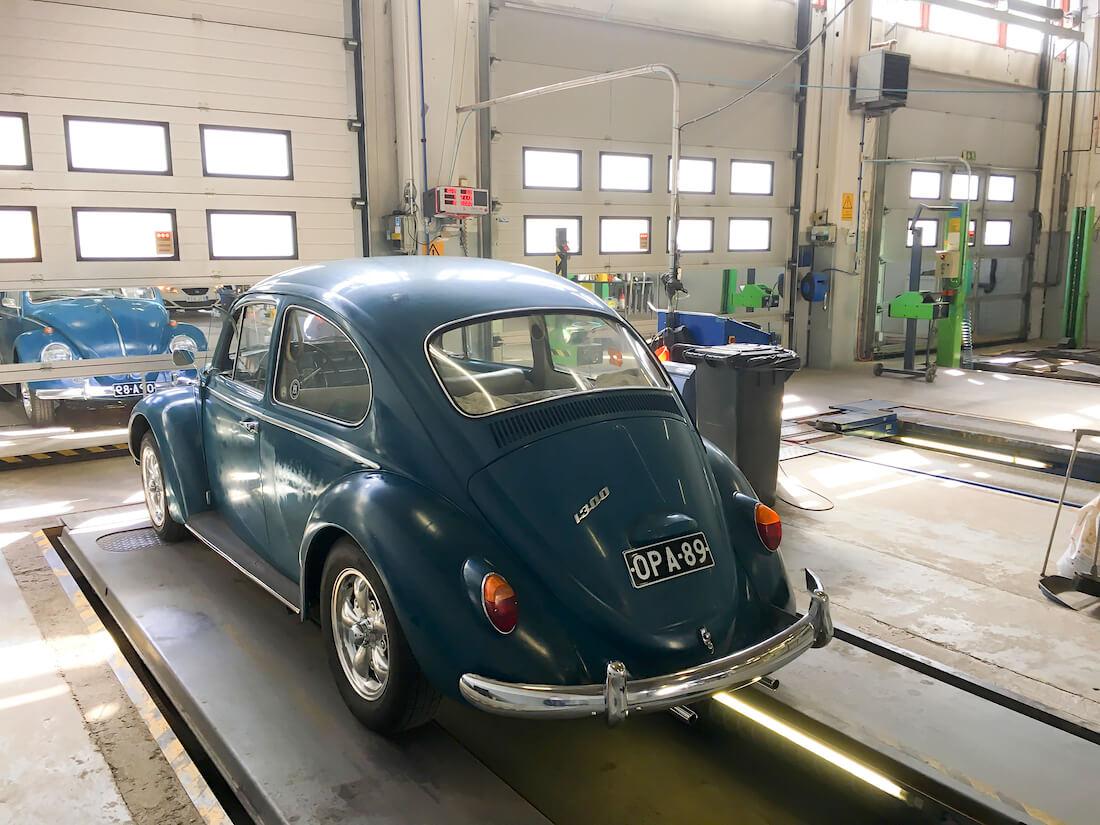 1966 Volkswagen katsastuksessa