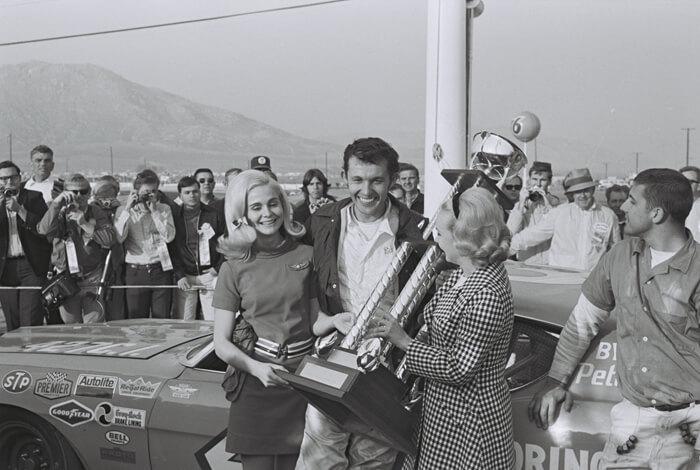 Richard Petty palkintoseremonia