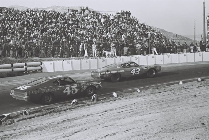 Ford Torino NASCAR-autoja vuonna 1969