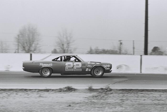 1969 Plymouth Road runner NASCAR-auto