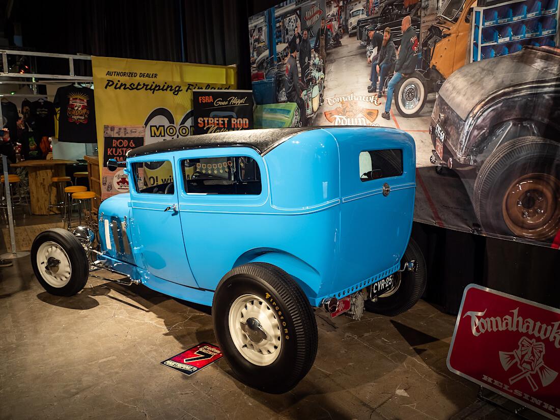 Ford A Tudor rodi