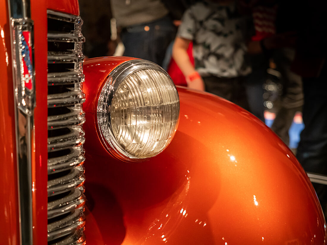 1938 Buick ajovalo