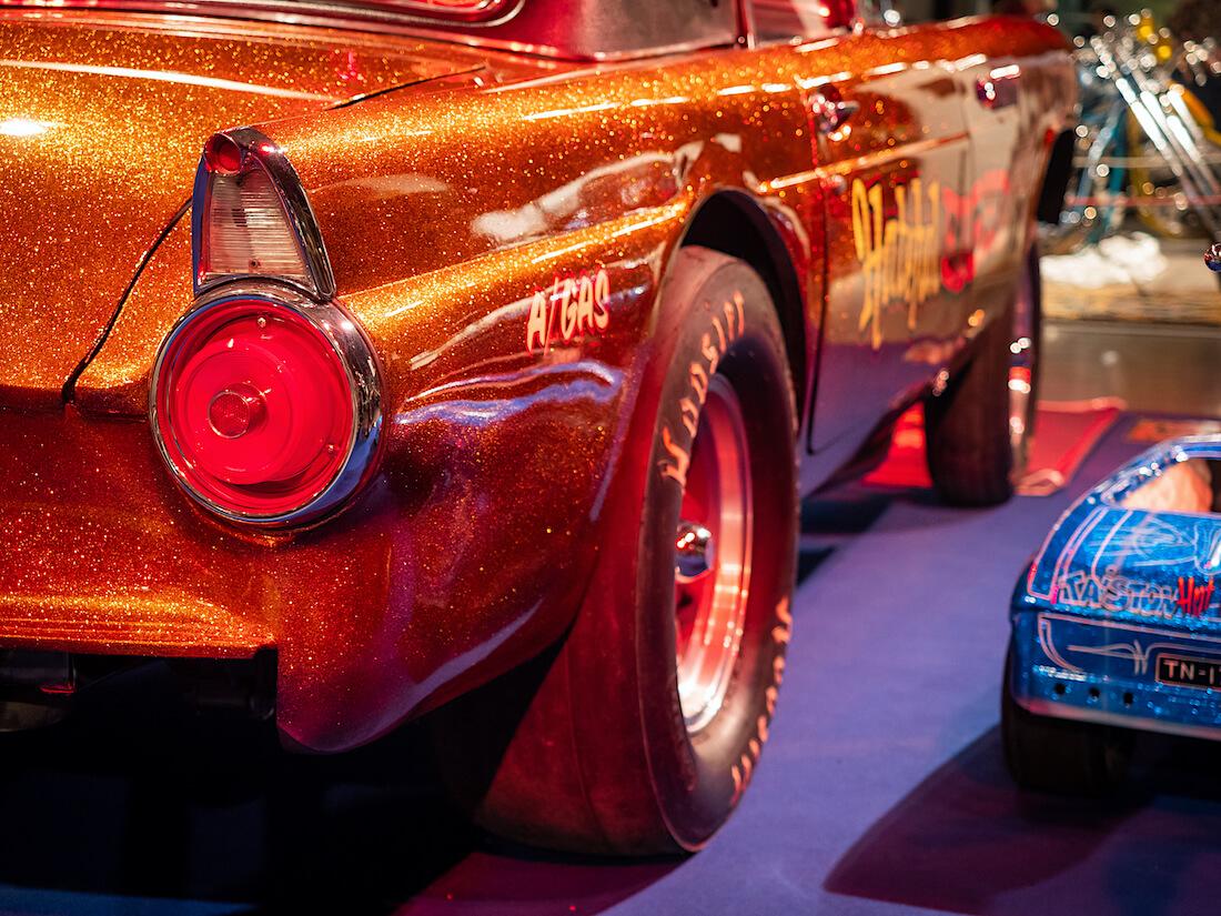 Thunderbird gasserin flake-maalaus
