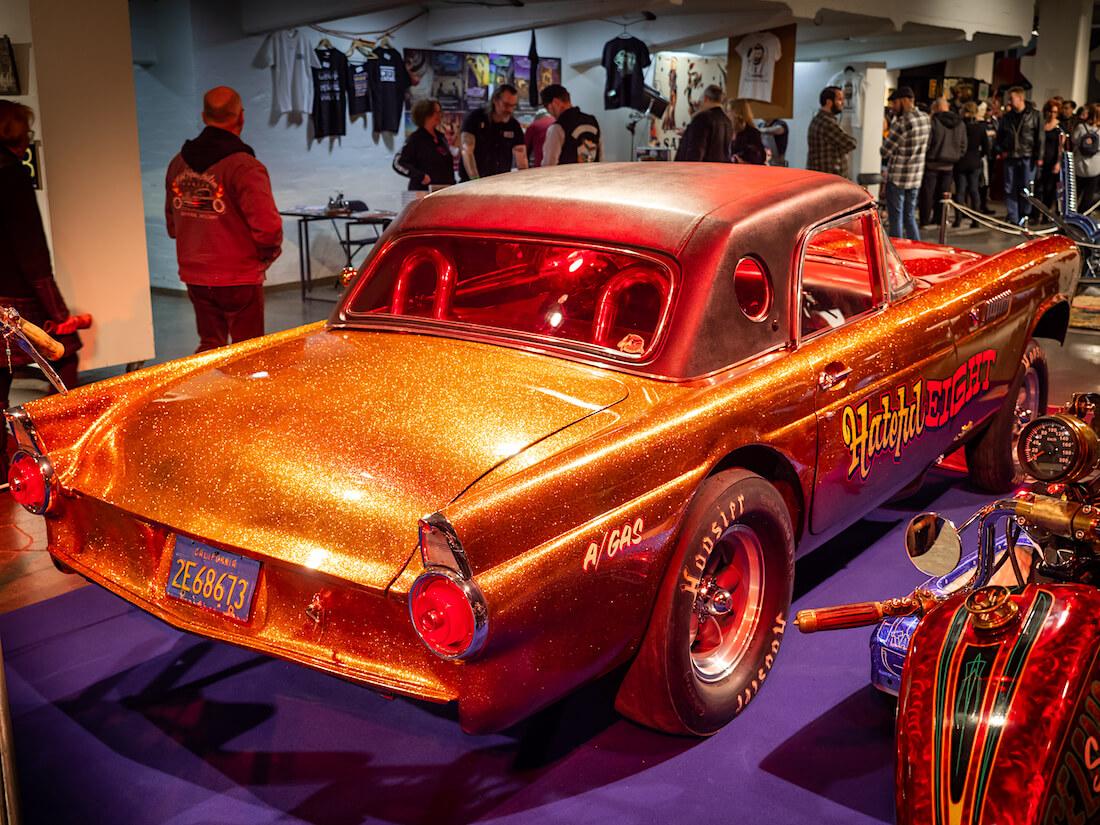 1955 Ford thunderbird flake-maalattu gasser