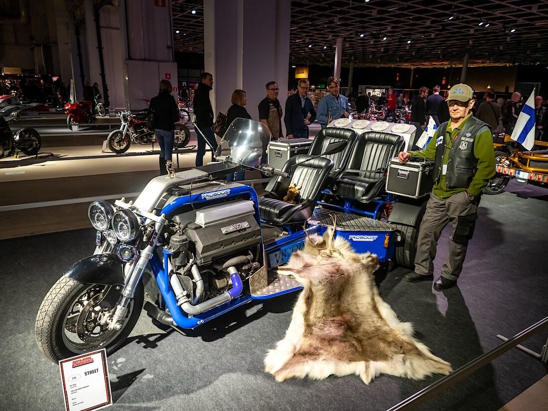 Esko Juntusen 2019 V8-Trike