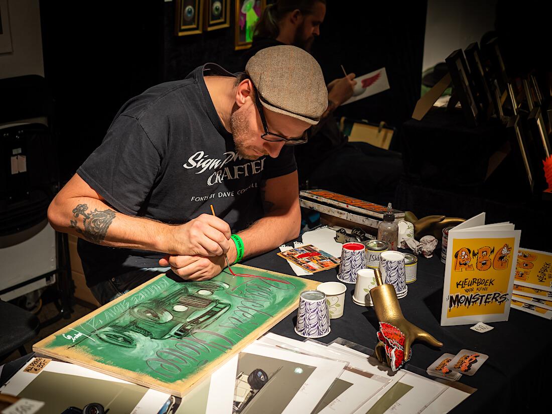 Amsterdam Signwriters maalaa