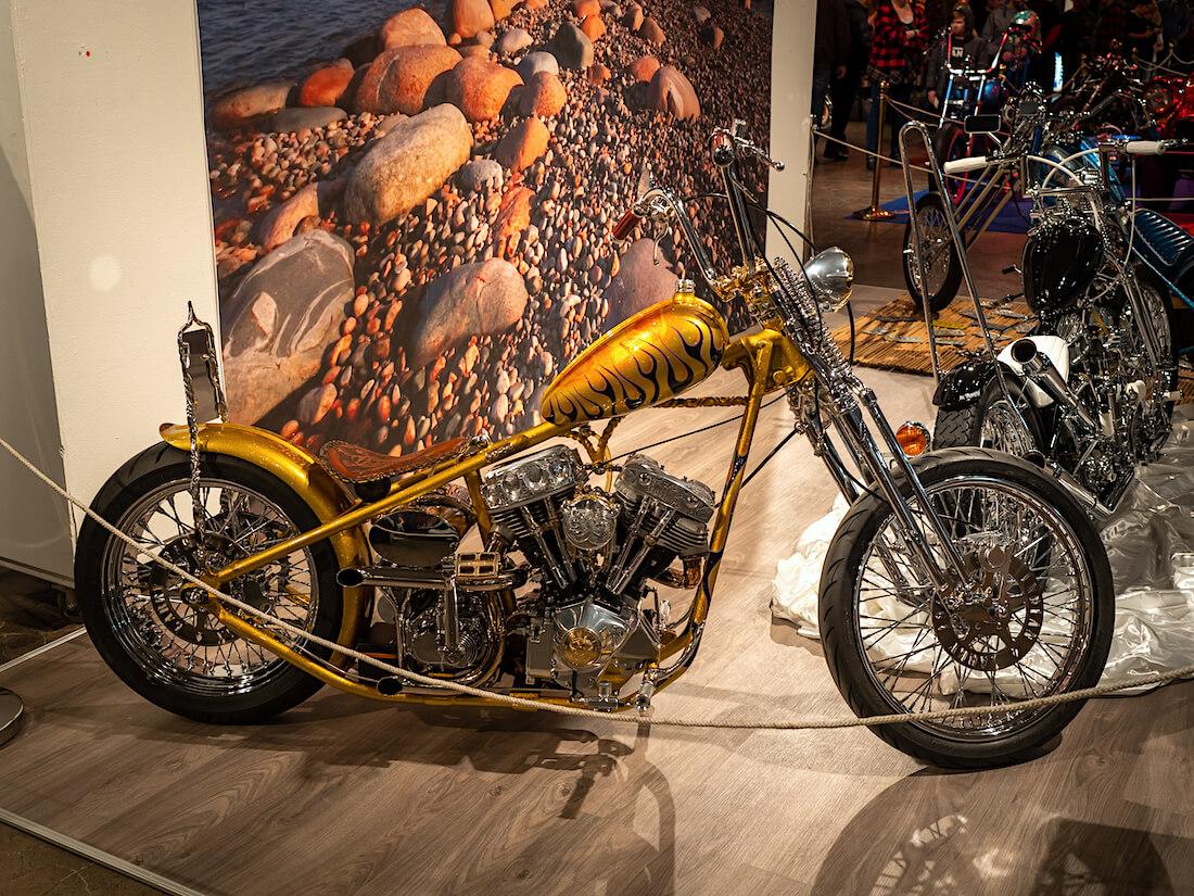 Sampo custom moottoripyörä