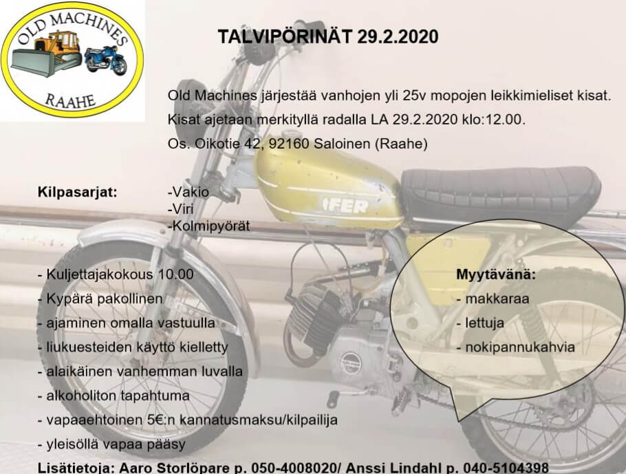 Talvipörinät 2020 mainos