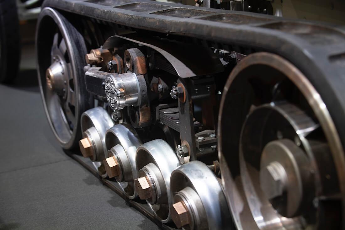 1922 Citroën Kultainen skarabee puolitelavaunu.