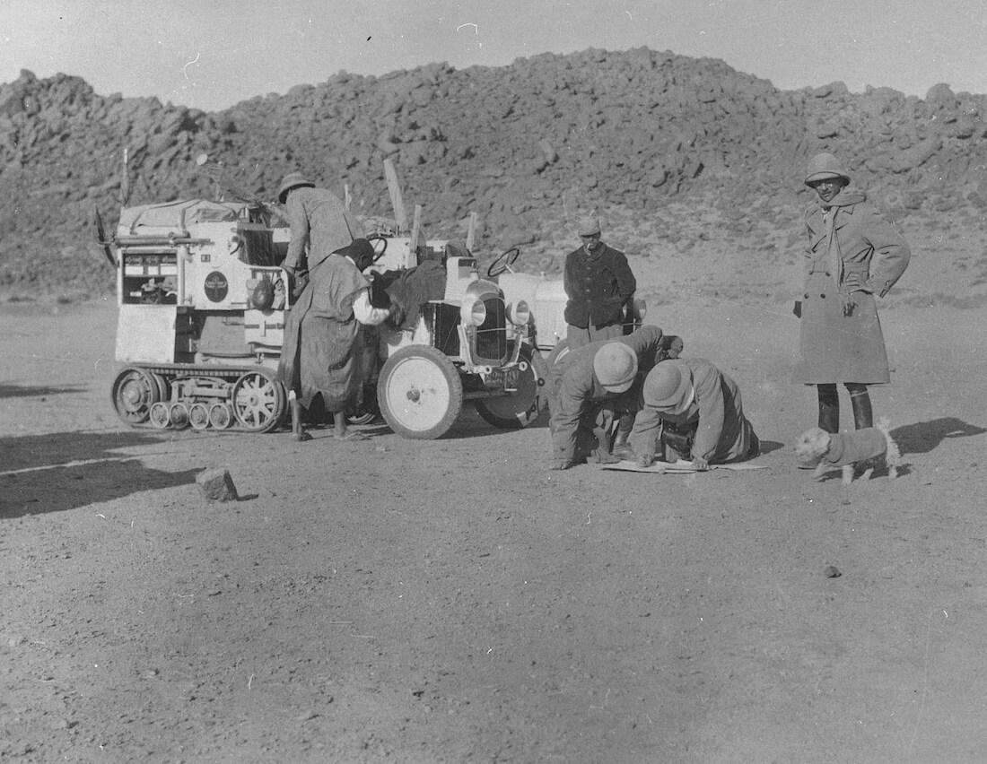 1922 Citroen Scarabee d'Or Saharassa