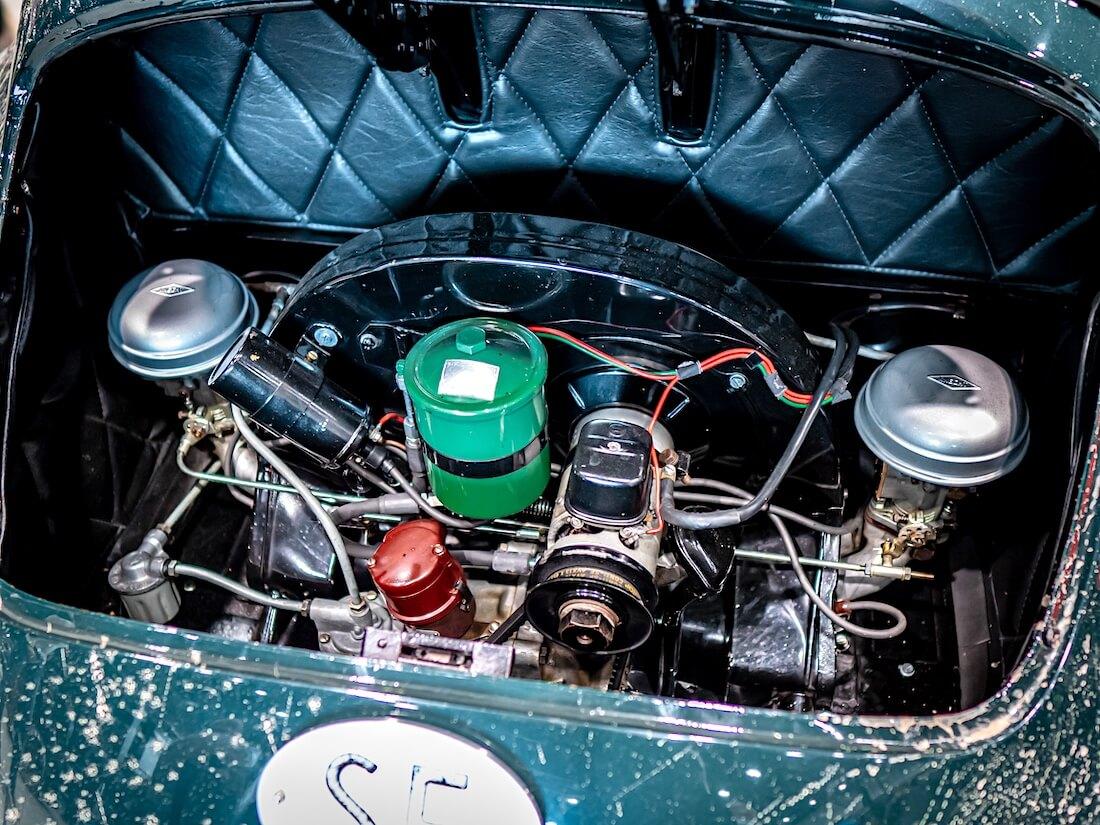 1951 porsche 356 coupen moottori