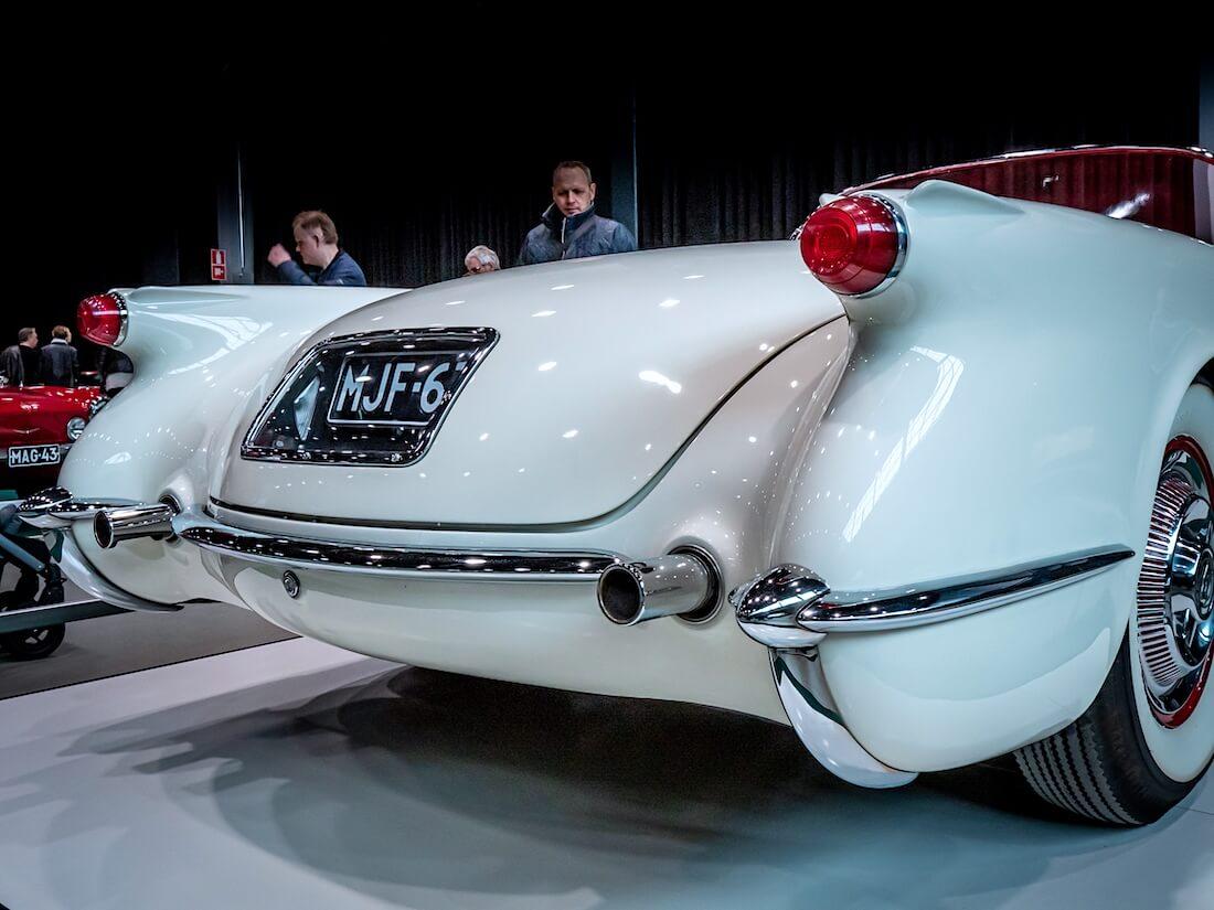 1955 Chevrolet Corvetten peräpää