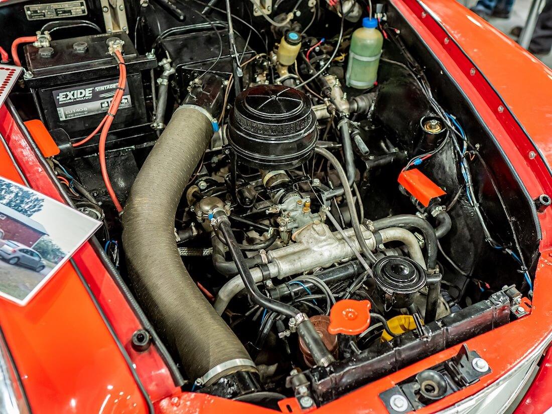 1959 Hansa 1100-kuutioinen moottori