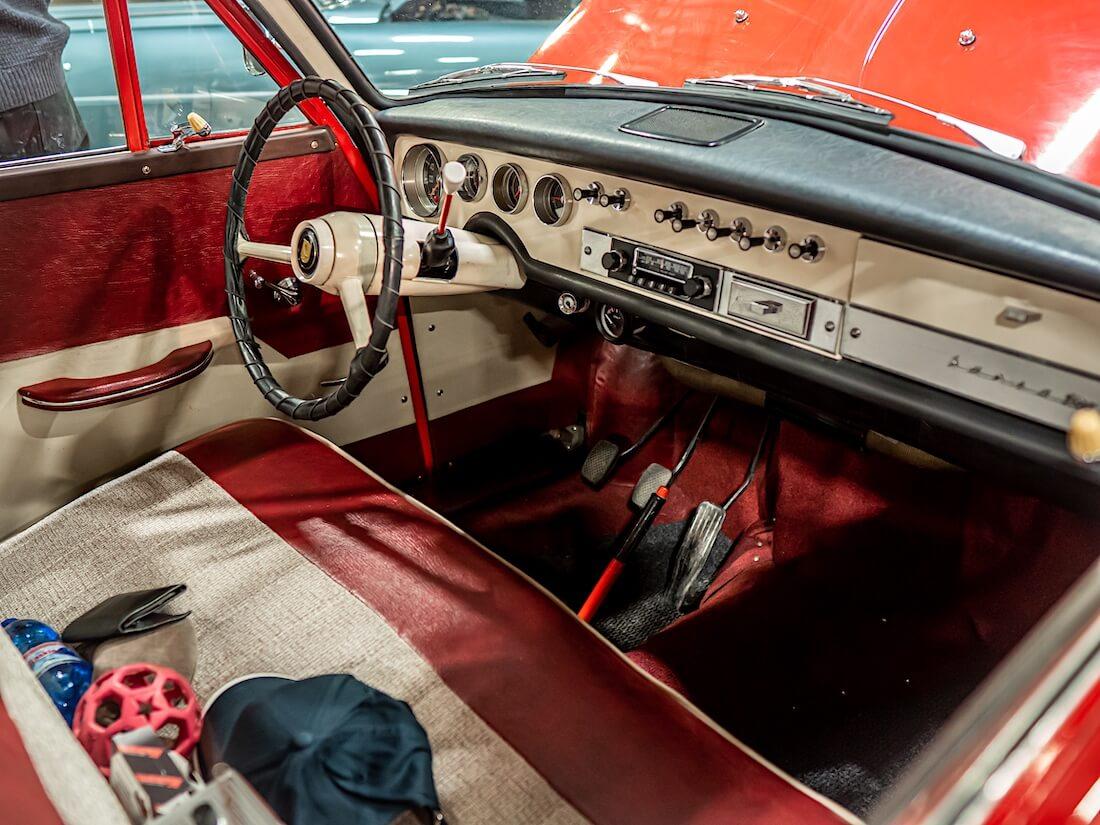 1959 Hansa 1100 auton sisusta