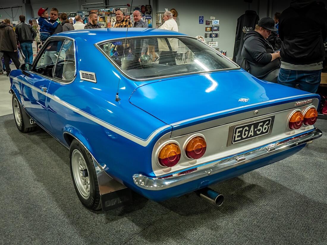 1971 Opel Manta A takaa